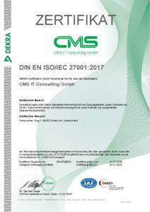 Zertifikat DS-0720035 de